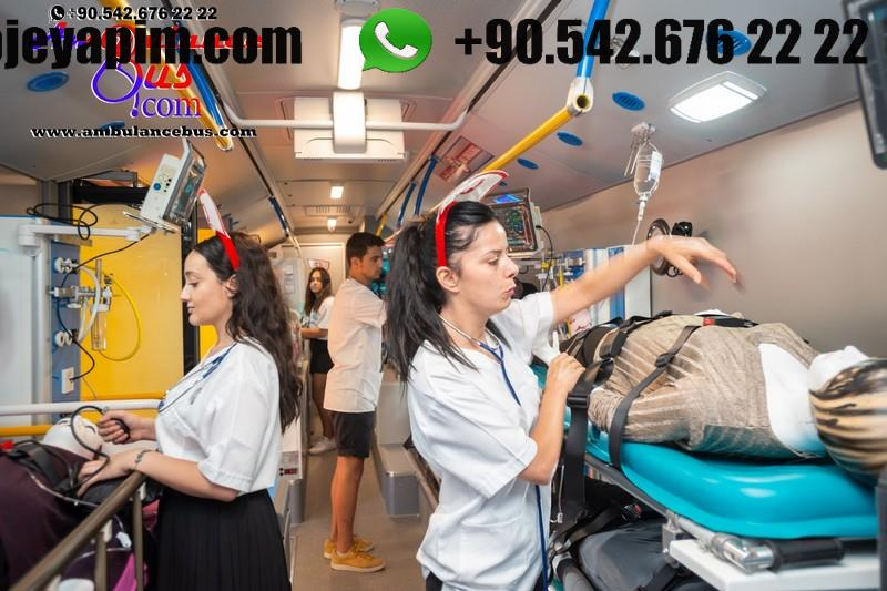coach ambulance instensive care