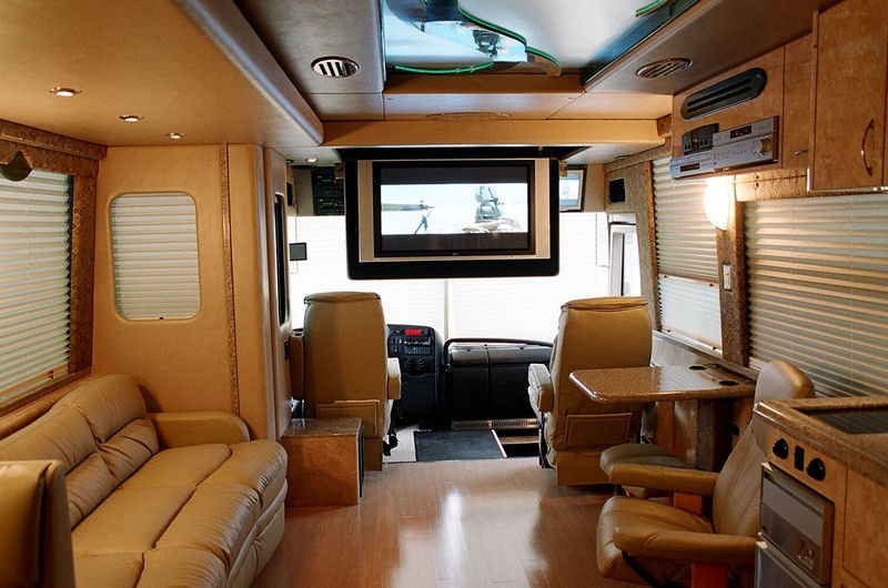 luxury business or private bus design