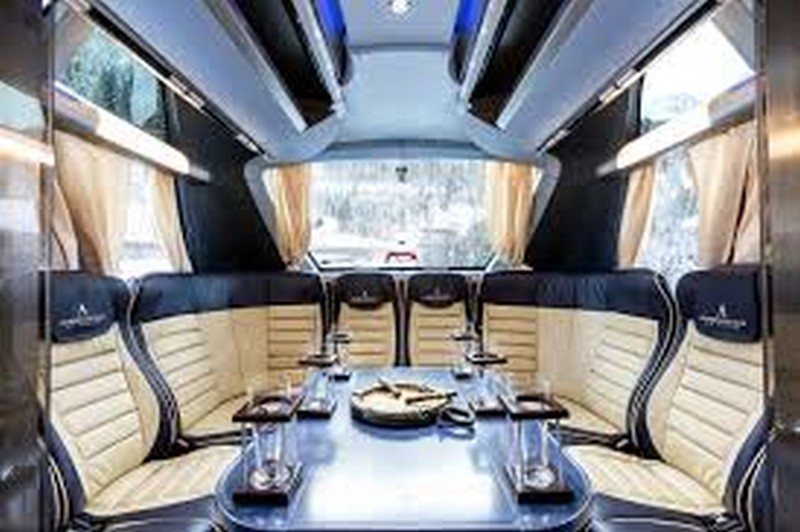 Most Luxurious Private Coaches Vip Business Buses