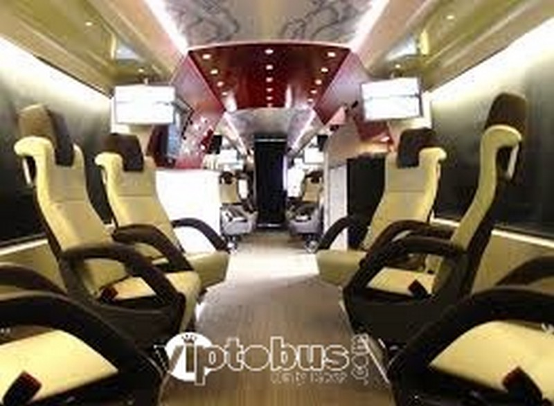 luxury office bus designer