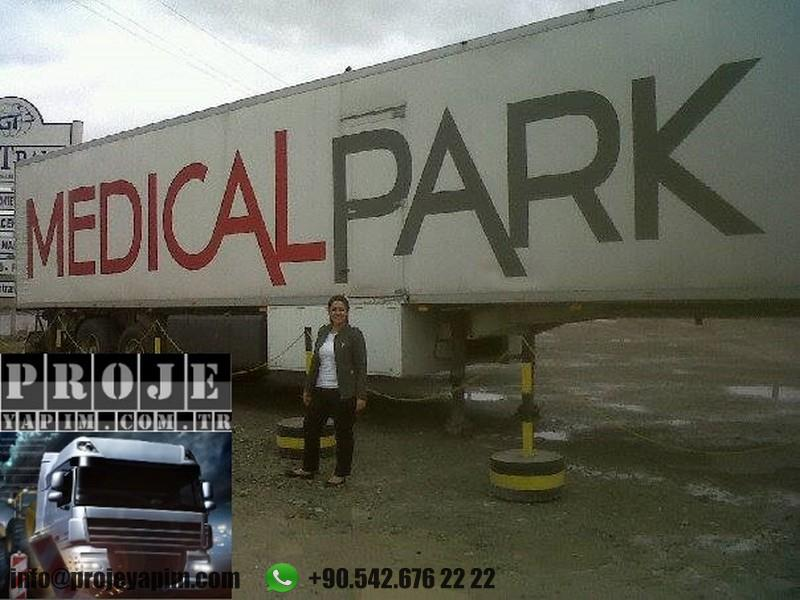 medical truck trailers