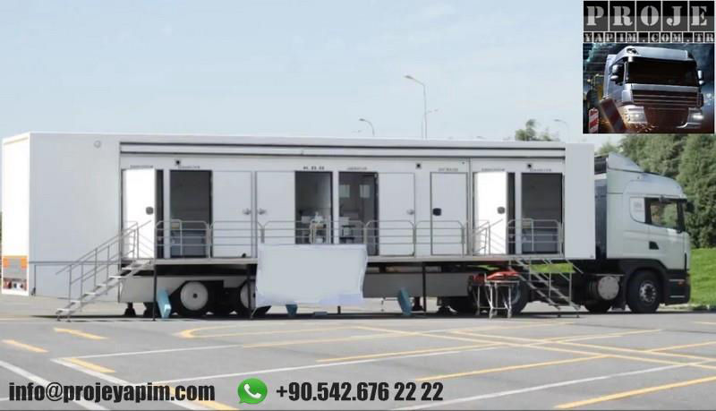 mobile doctor's office trailer