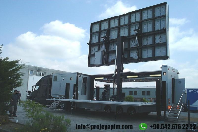 Mobile Showroom Truck Trailer Factory Turkey